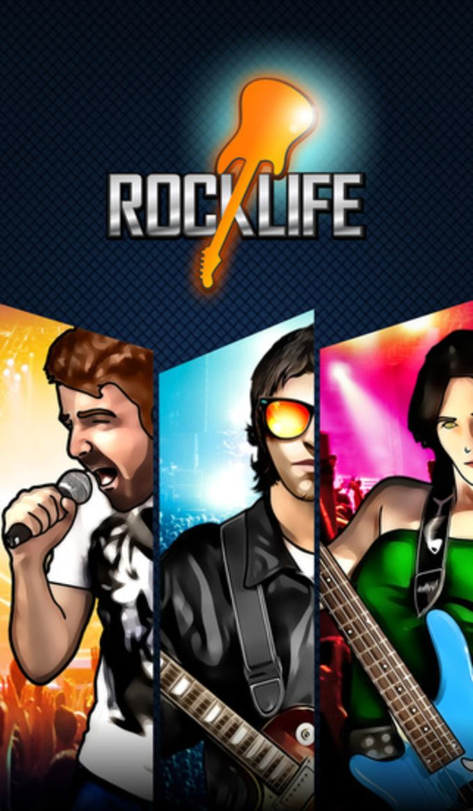 Rock Life - Guitar Hard Tour Rising Star - Be the Online Tap Band Hero Multiplayer Legend
