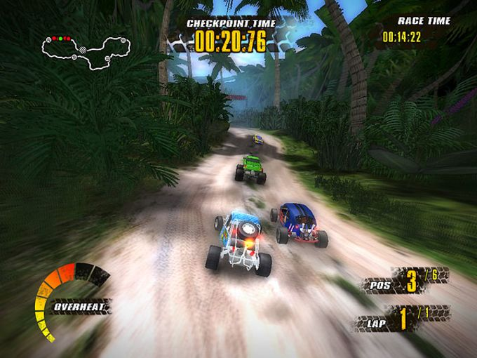 Extreme Jungle Racers