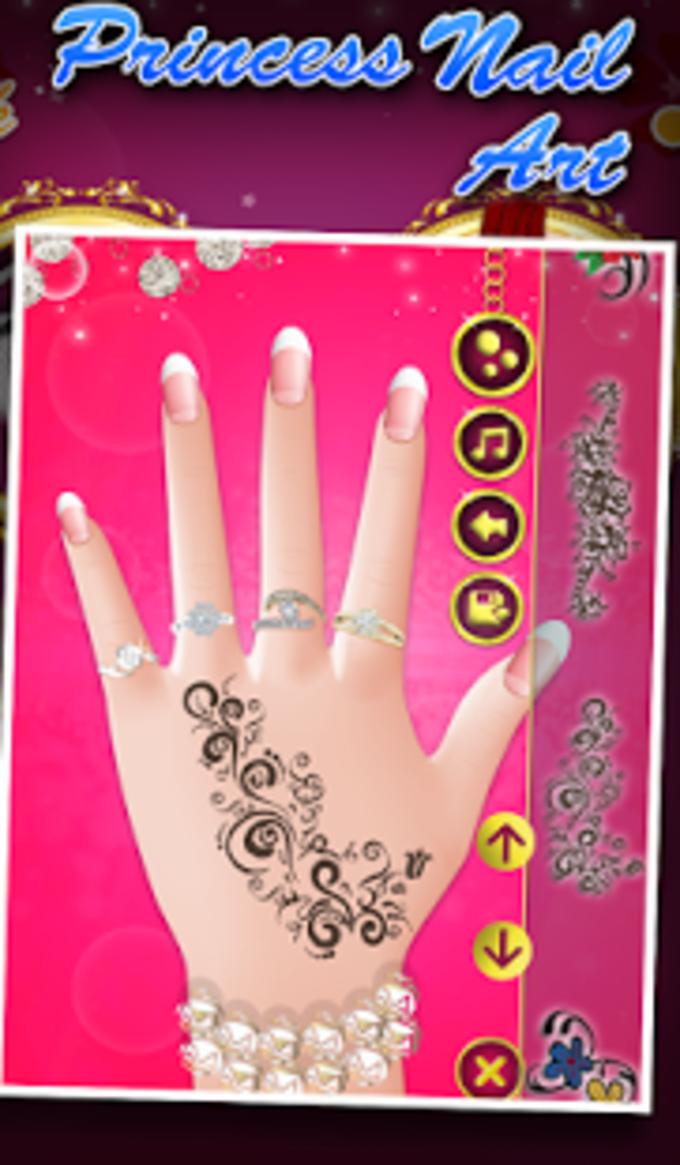 Princess Nail Art