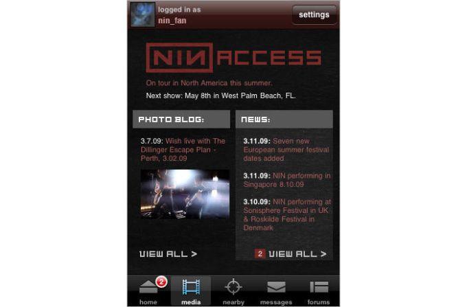 nin: access