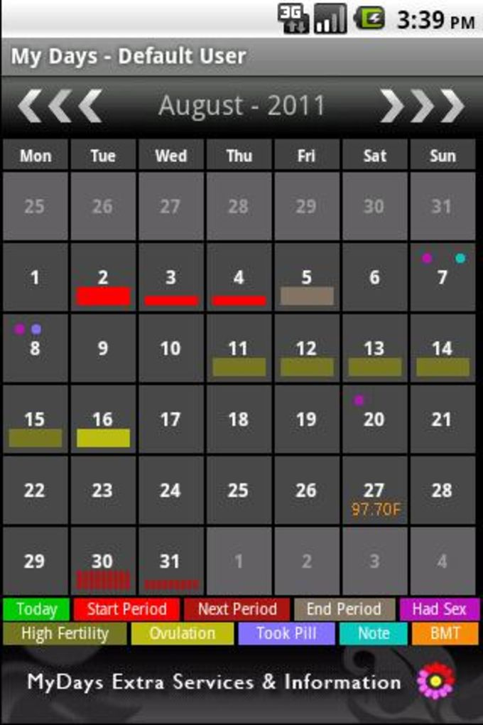 My Days - Period & Ovulation