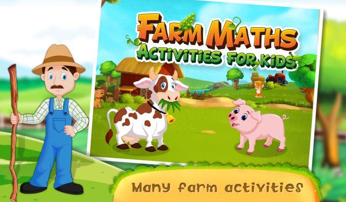 Farm Maths Activities For Kids