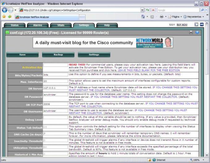 Scrutinizer NetFlow & sFlow Analyzer