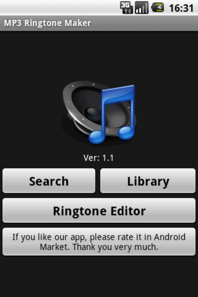 MP3 Ringtoneメーカー