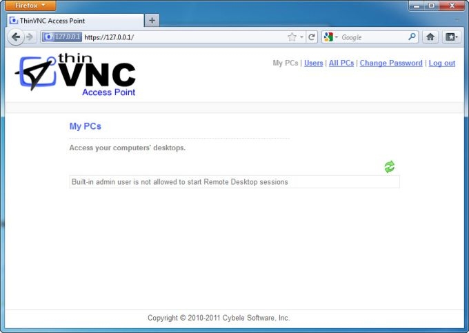 ThinVNC Access Point