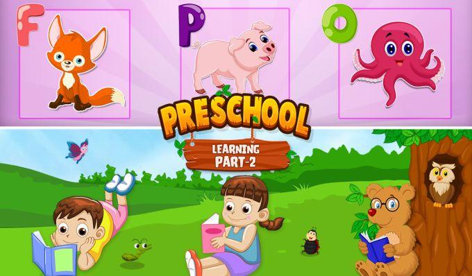 Preschool Learning Part 2