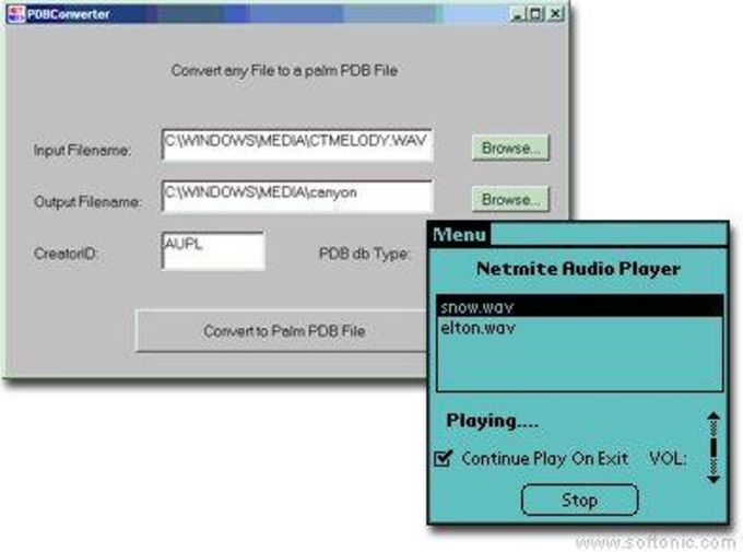 Netmite Audio Player