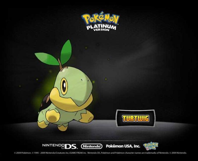 Wygaszacz ekranu Pokémon Platinum