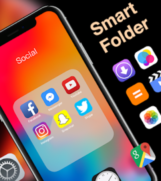 XS Launcher Prime  Stylish OS Theme Phone XS Max