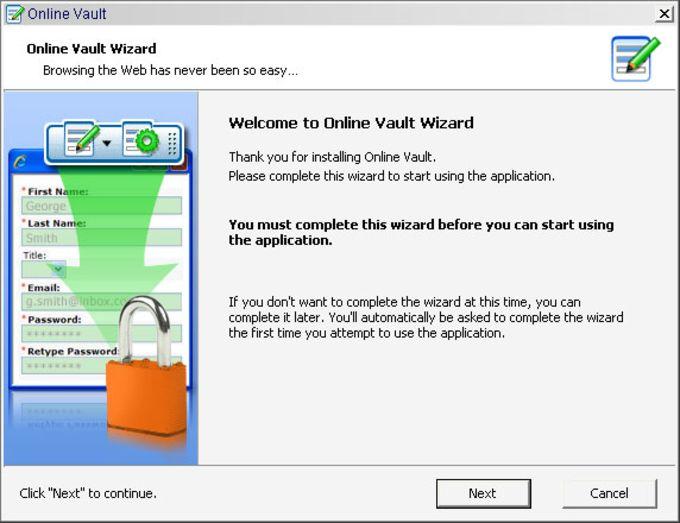Online Vault Backup