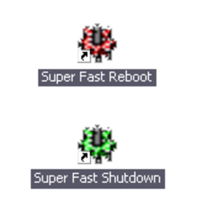 Super Fast Shutdown