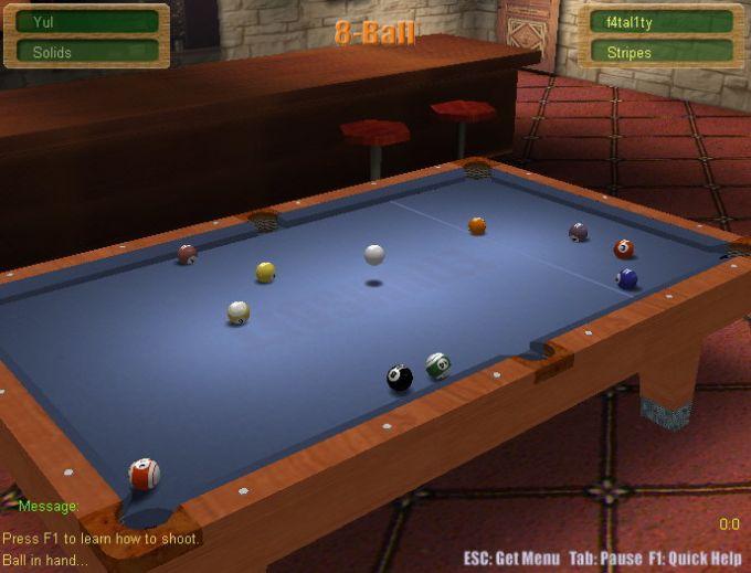 3D Online Pool