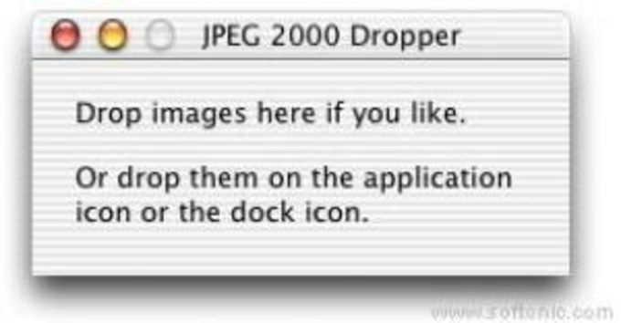 JPEG 2000 Dropper