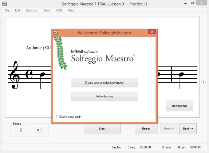 M-Solfege Musical Reading Edition