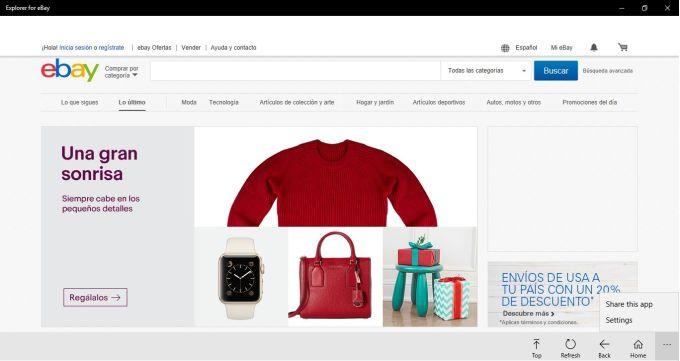 Explorer for eBay