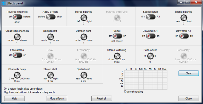 Peace Equalizer - User Interface for Equalizer APO