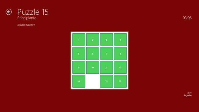 Puzzle 15 for Windows 10