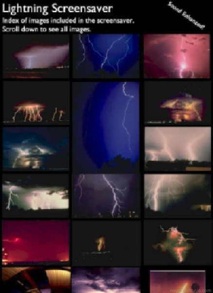Lightning Screen Saver