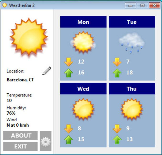 Weatherbar