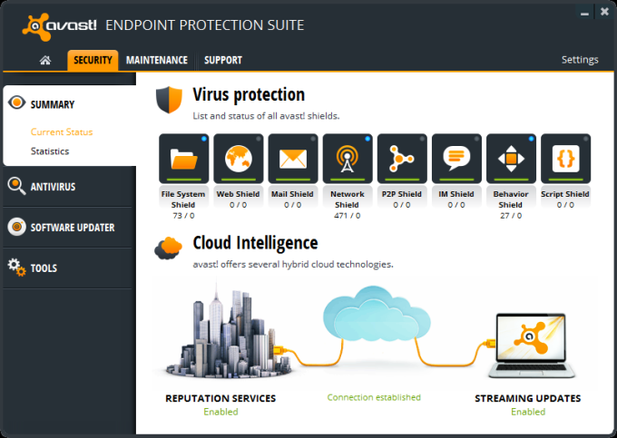 avast! Endpoint Protection Suite