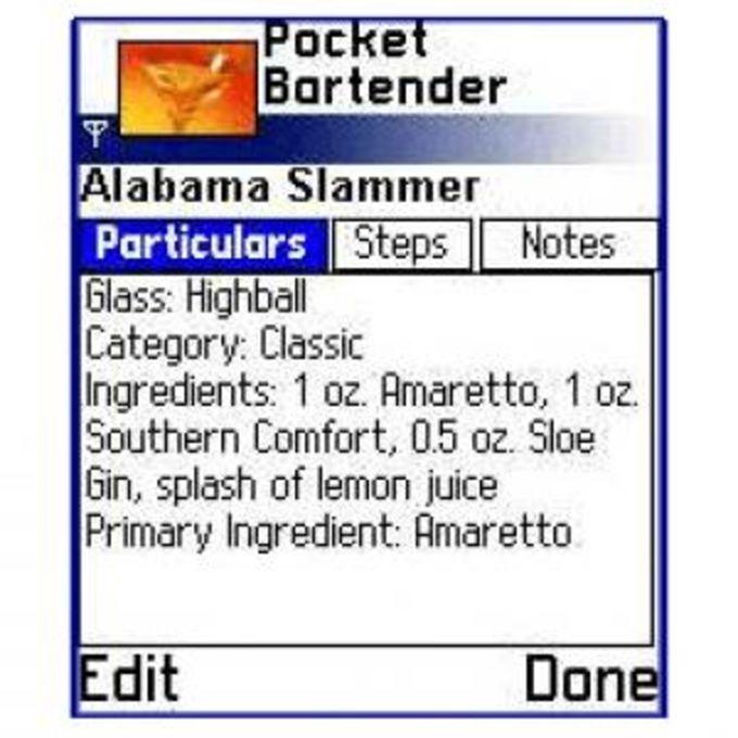 Pocket Bartender