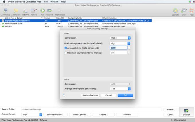 Prism Video File Converter Free