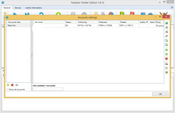 Twidium Twitter Edition