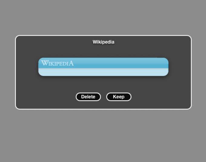Wikipedia Widget