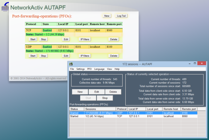 AUTAPF Port Forwarder