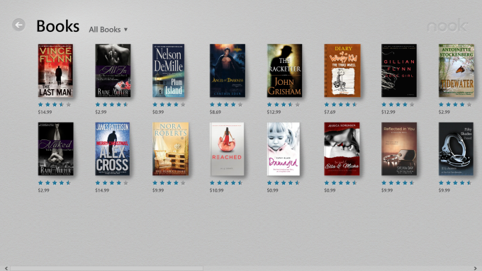 NOOK for Windows 10