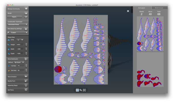 Autodesk 123D Make