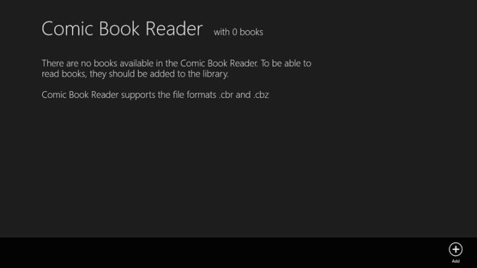 Comic Book Reader for Windows 10