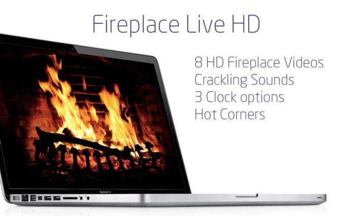 Fireplace Live HD