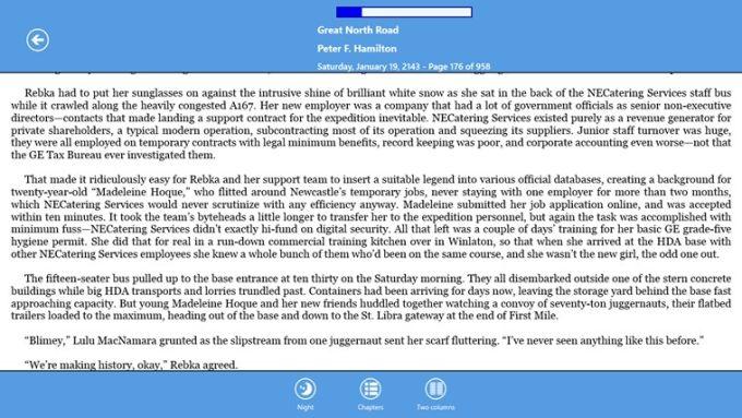 EpubReader for Windows 10