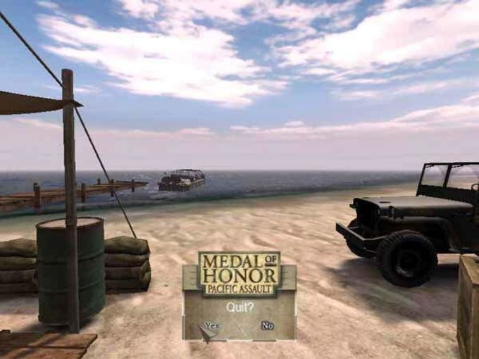 Medal of Honor: Batailles du Pacifique
