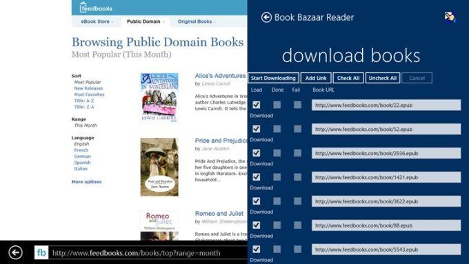 Book Bazaar Reader for Windows 10