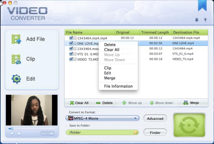 321Soft Mac Video Converter