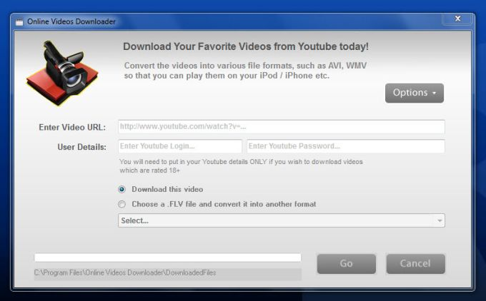 Online Videos Downloader