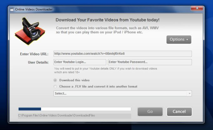 Online Videos Downloader