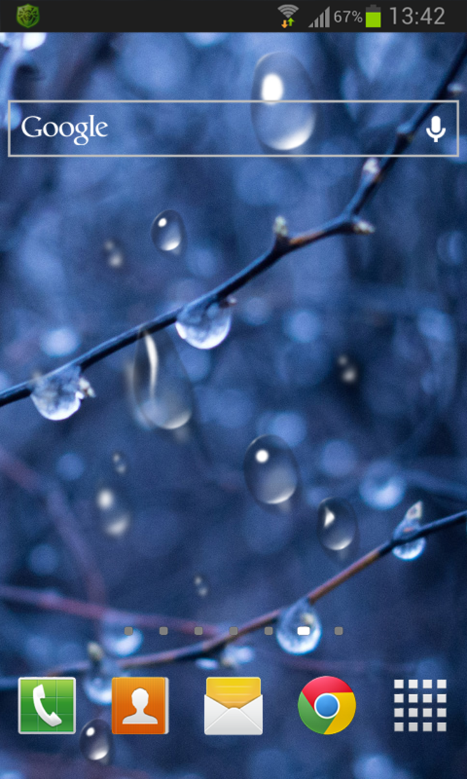 Drops HD Live Wallpaper