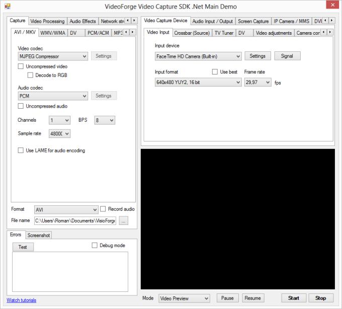 Video Capture SDK .Net
