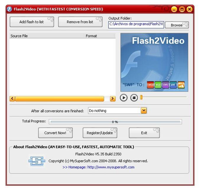 Flash2Video