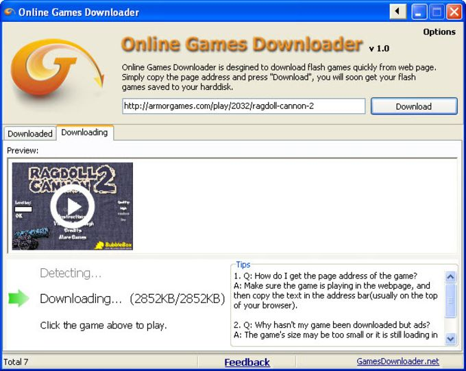 Online Games Downloader