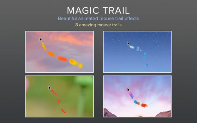 Magic Trail - Mouse Effects