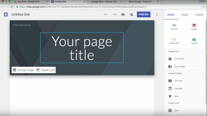 Google Sites