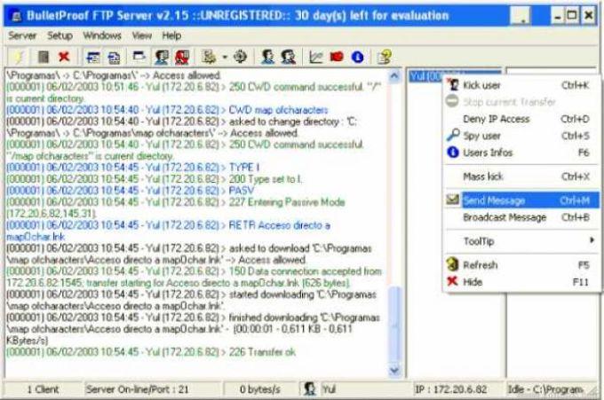 Bulletproof FTP Server