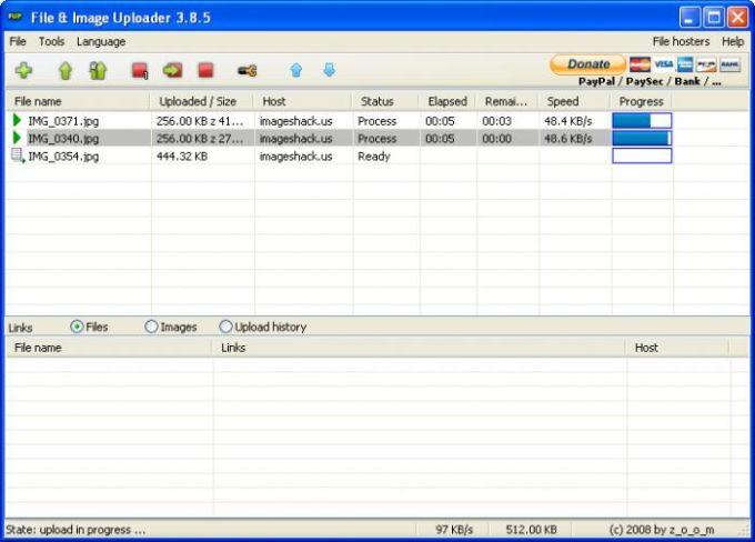 File & Image Uploader
