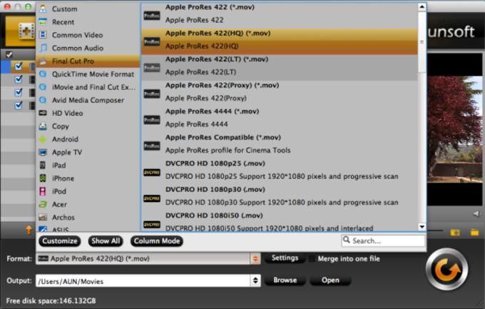 Aunsoft Video Converter for Mac