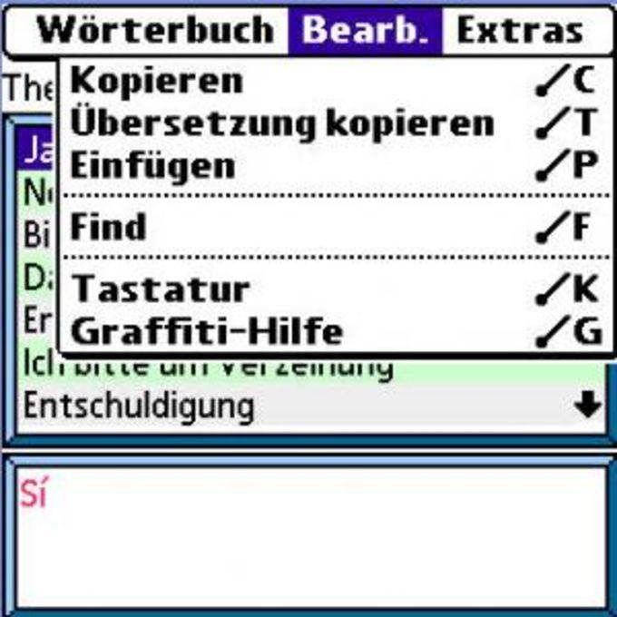 BDicty Deutsch-Spanisch Sprechender Sprachführer