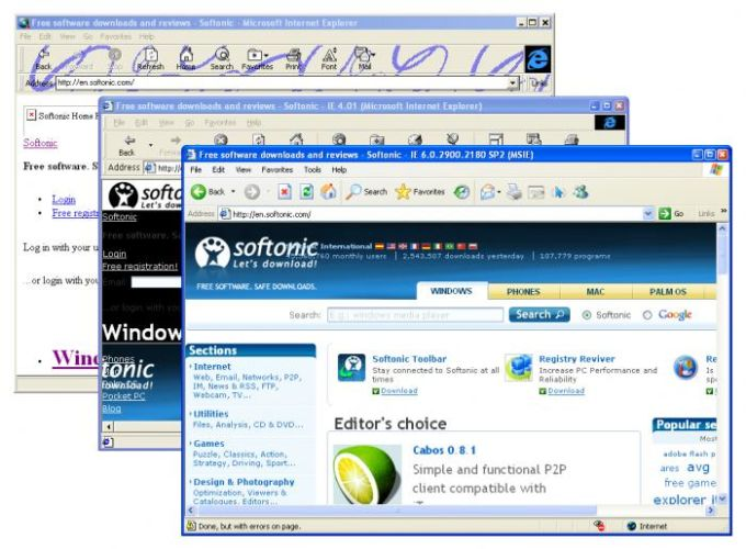 Utilu Internet Explorer Collection